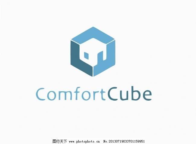 立方体logo 版式 标记 标牌 标签 标识 标志 正方体 正方图片
