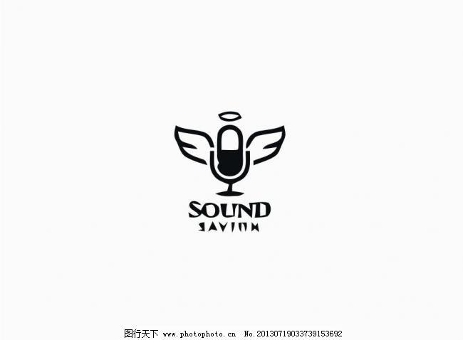 麦克风logo图片图片