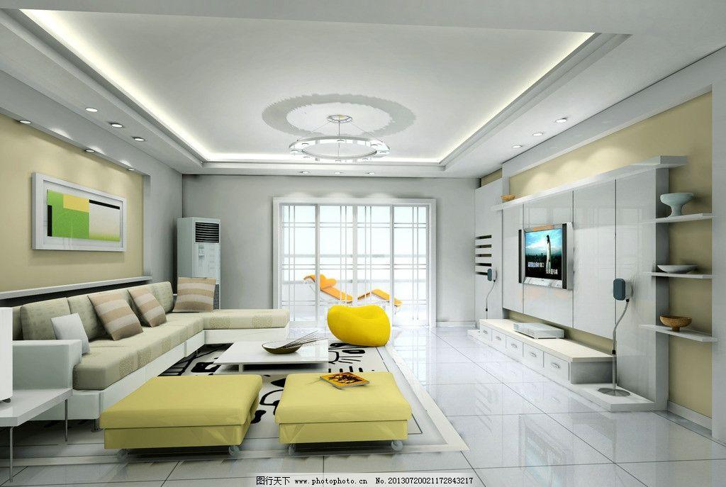客厅效果图 沙发 吊灯 挂画 浅色客厅效果图 客厅吊顶效果图 家装效图片