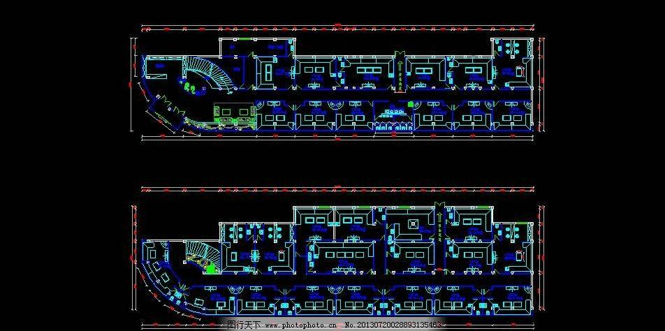 ktv平面图 某ktv平面图 ktv平面布置图 某ktvcad布置图 ktv设计 施工