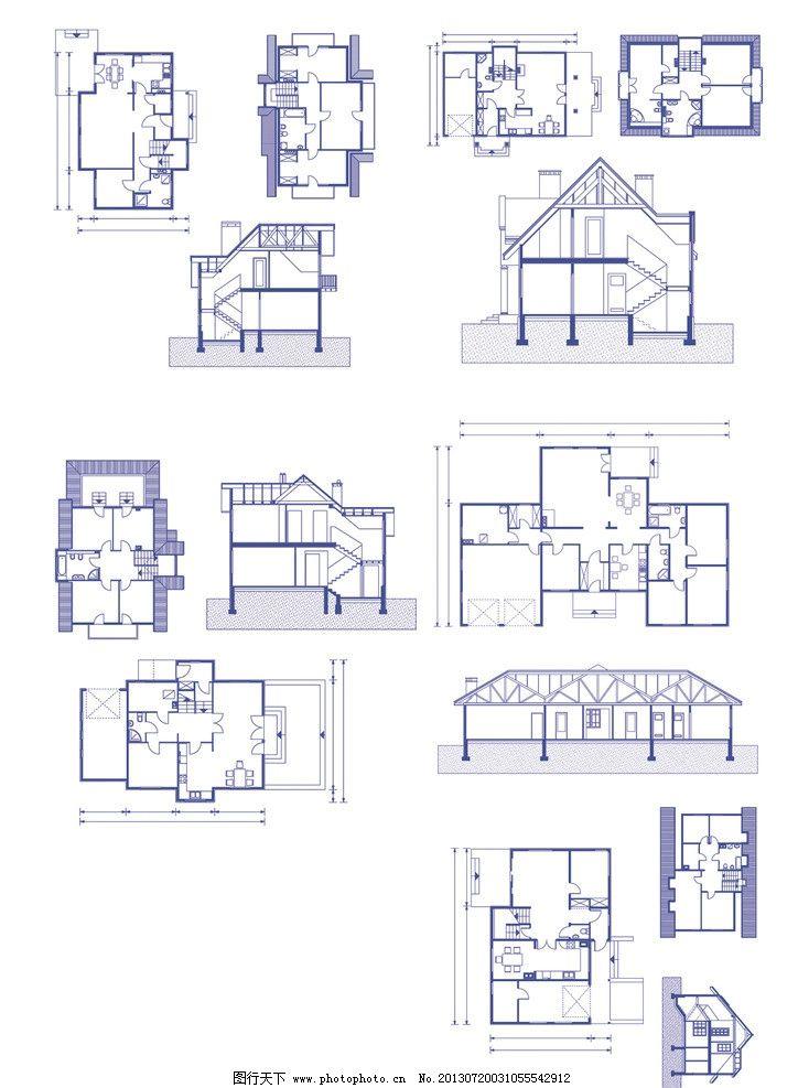 建筑设计图纸图片