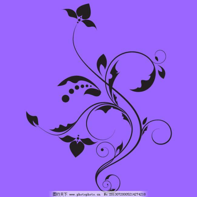 创意花纹 精美花纹 花卉花纹 经典欧式花纹 高贵花纹 矢量图 花纹花边