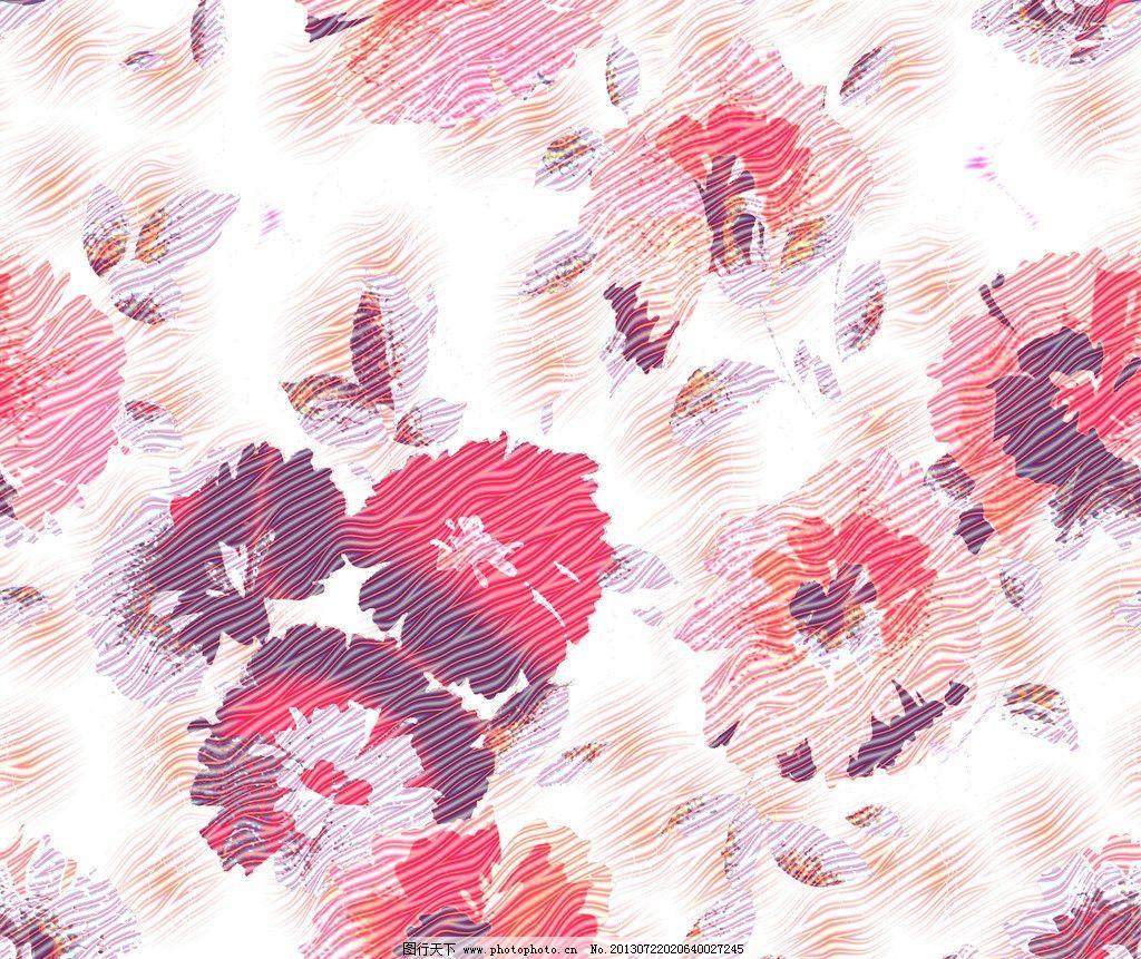 服装面料 纺织品花样 底纹图案 抽象底纹 花卉 纺织品设计 底纹边框