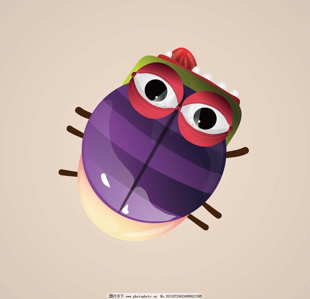 卡通昆虫图片