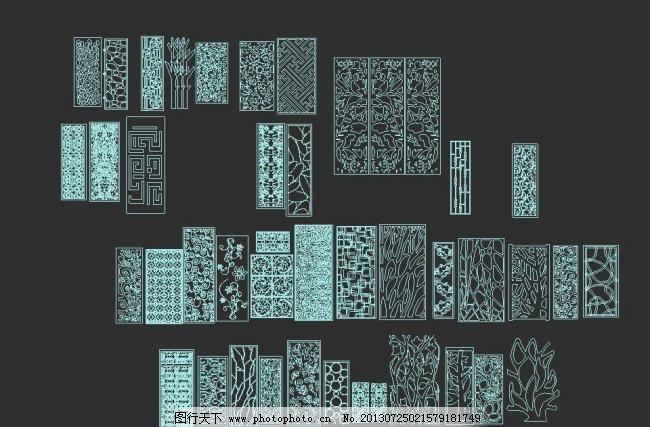 装饰 餐厅 树 设计 源文件 室内模型 3d设计模型 max 3d模型素材