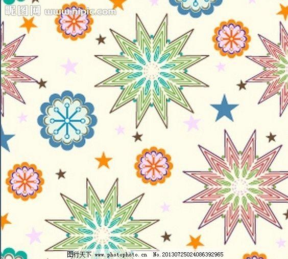 花纹 底纹 纹理 花边 植物 藤蔓 叶子 背景 唯美 花朵 树枝 墙纸 星星