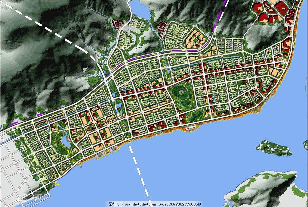 城市设计 滨水空间 城市中心区 商业商务 居住 景观系统 其他设计图片