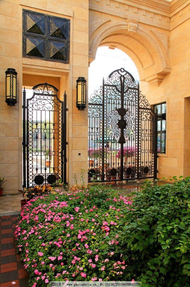 景致 园区小品 花坛 花池 草坪 大气房地产园林景观 欧式洋房叠墅豪宅