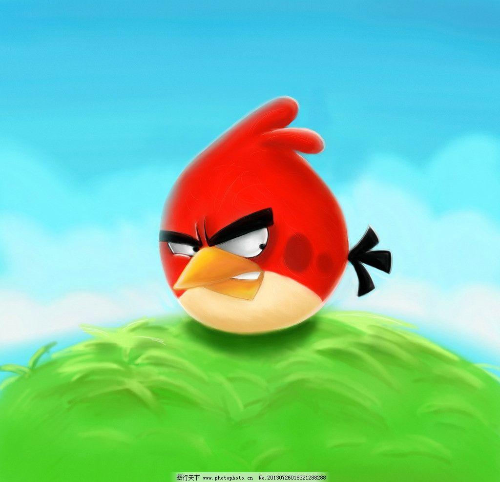 愤怒的小鸟 动漫动画 卡通