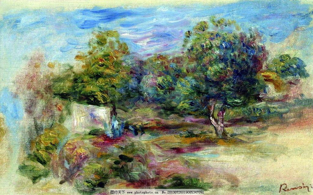 油画风景 油画 风景 国外绘画