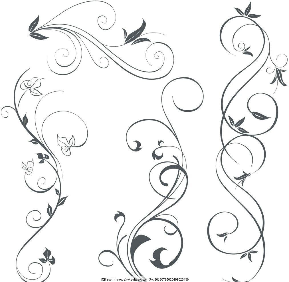 欧式花纹 欧式 古典 花纹 花边 卡片 传统花纹 装饰花纹 婚纱 婚礼