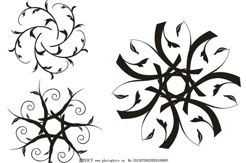 幼儿园创意黑白画边框