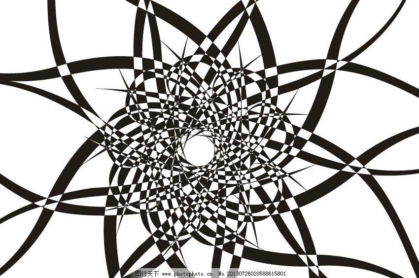黑白格图片_条纹线条_底纹边框_图行天下图库