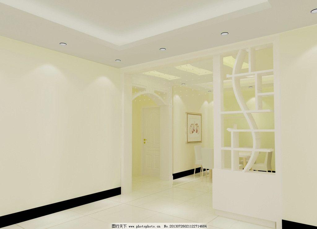 酒柜效果图 酒柜 白色 室内 吊顶 挂画 3d作品 3d设计 设计 72dpi jpg