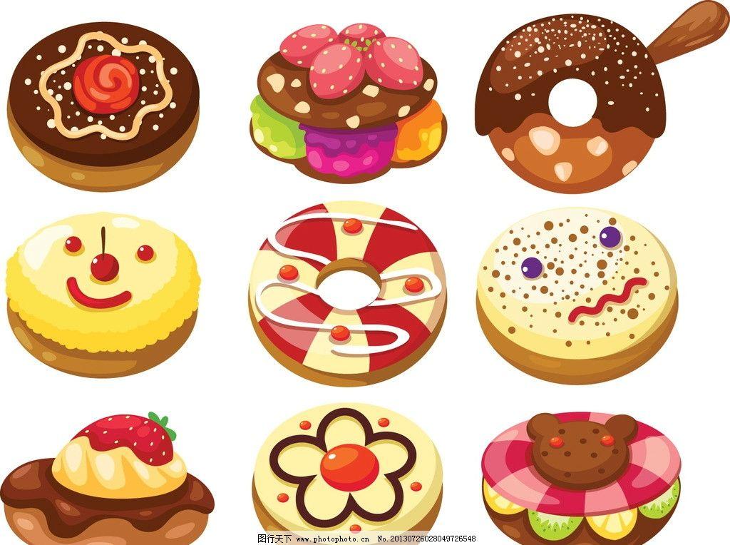 蛋糕 欧式蛋糕 巧克力 奶油蛋糕 草莓 水果 生日蛋糕 矢量 纸张背景矢