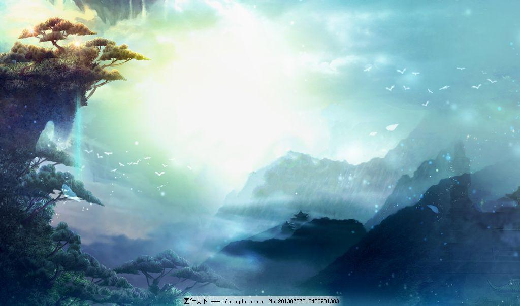 设计分享 中传游戏场景设计 > 游戏硬件核心  黑暗的游戏欧式城堡场景