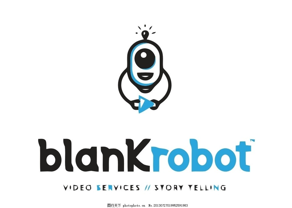 设计图库 标志图标 企业logo标志  机器人logo 机器人 机械人 人工