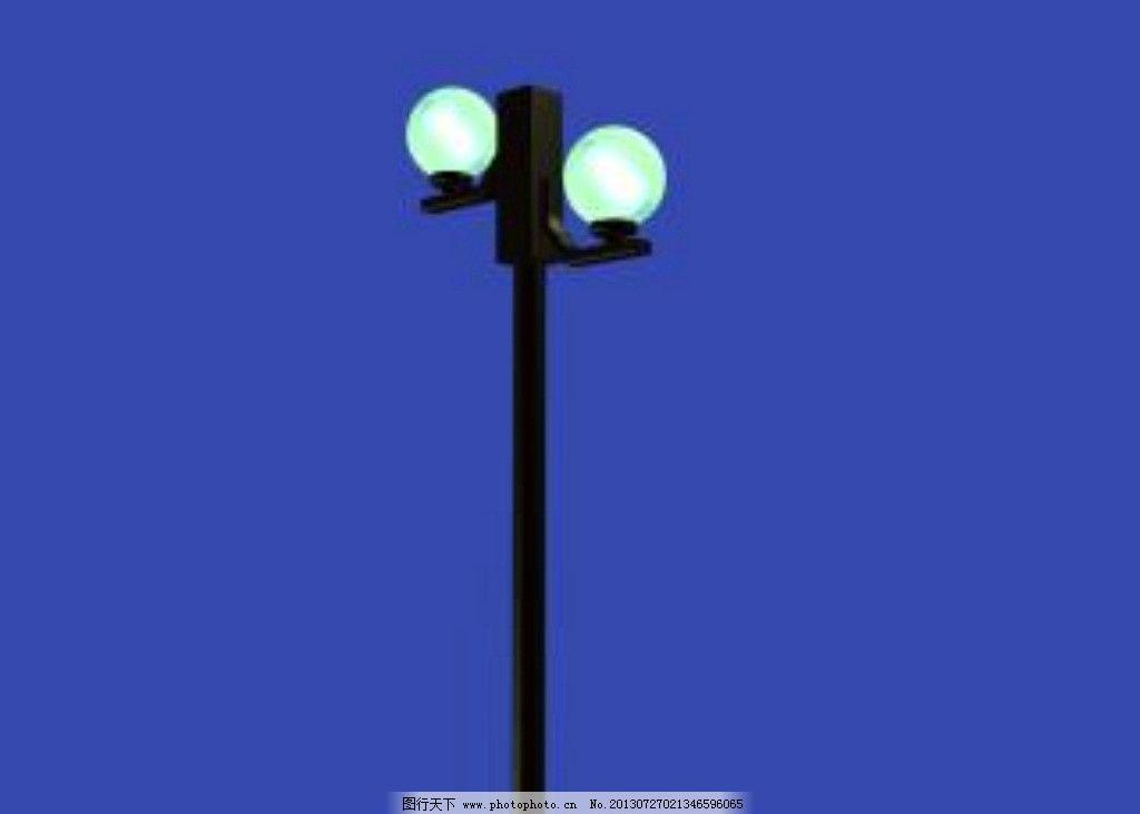 路灯图片_室外模型_3d设计_图行天下图库