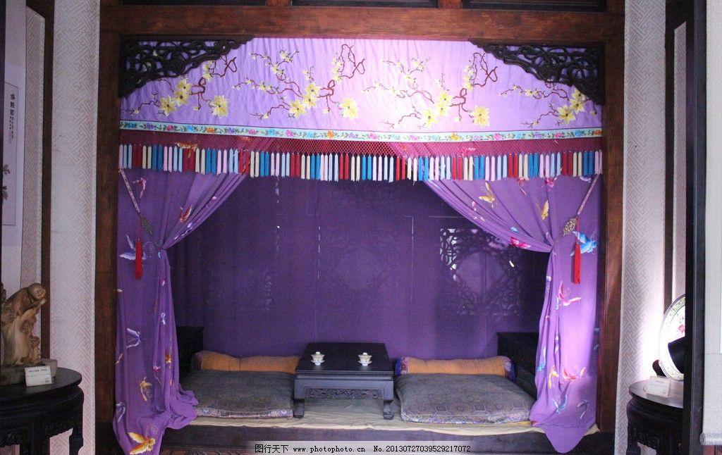 宫殿 皇宫 床图片