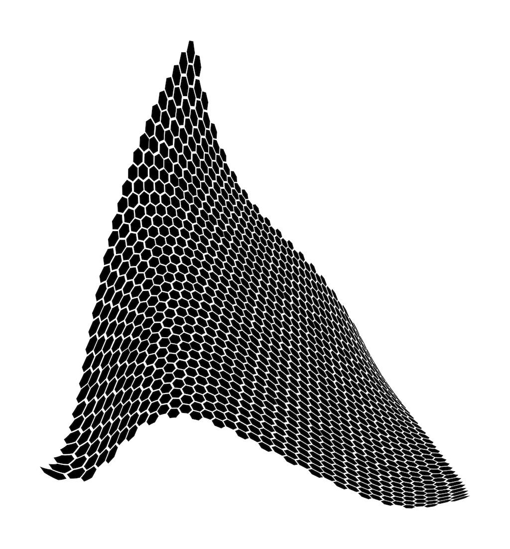 蜂巢状的平面设计