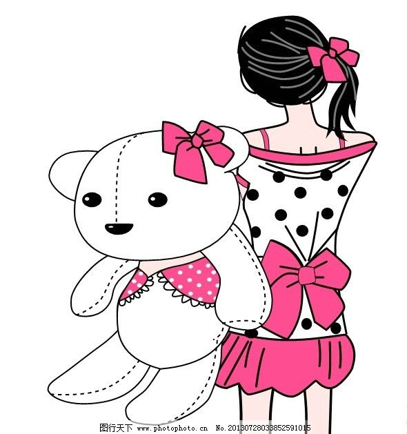 卡通动物 熊图片
