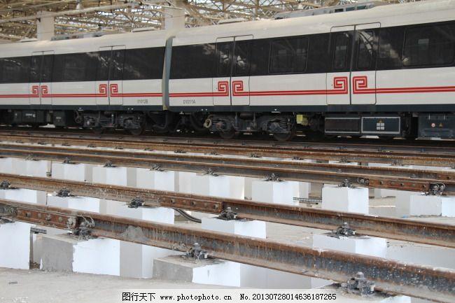 郑州 地铁/郑州地铁列车正在检修