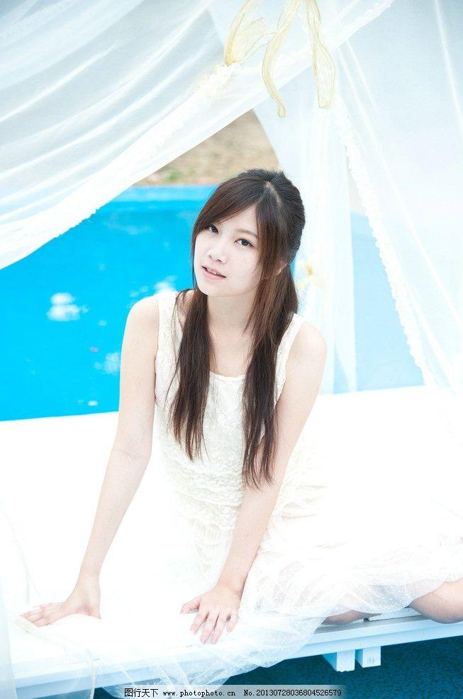 清纯美女 气质美女 可爱美女 白衣美女 青春靓丽 长发美女 高清美女