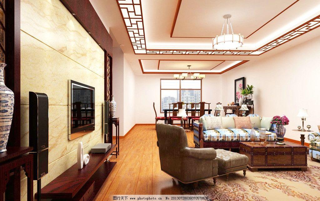 室内设计      中式 大气 简中式风格 室内摄影 建筑园林 摄影 72dpi