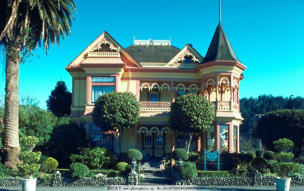 建筑别墅图片
