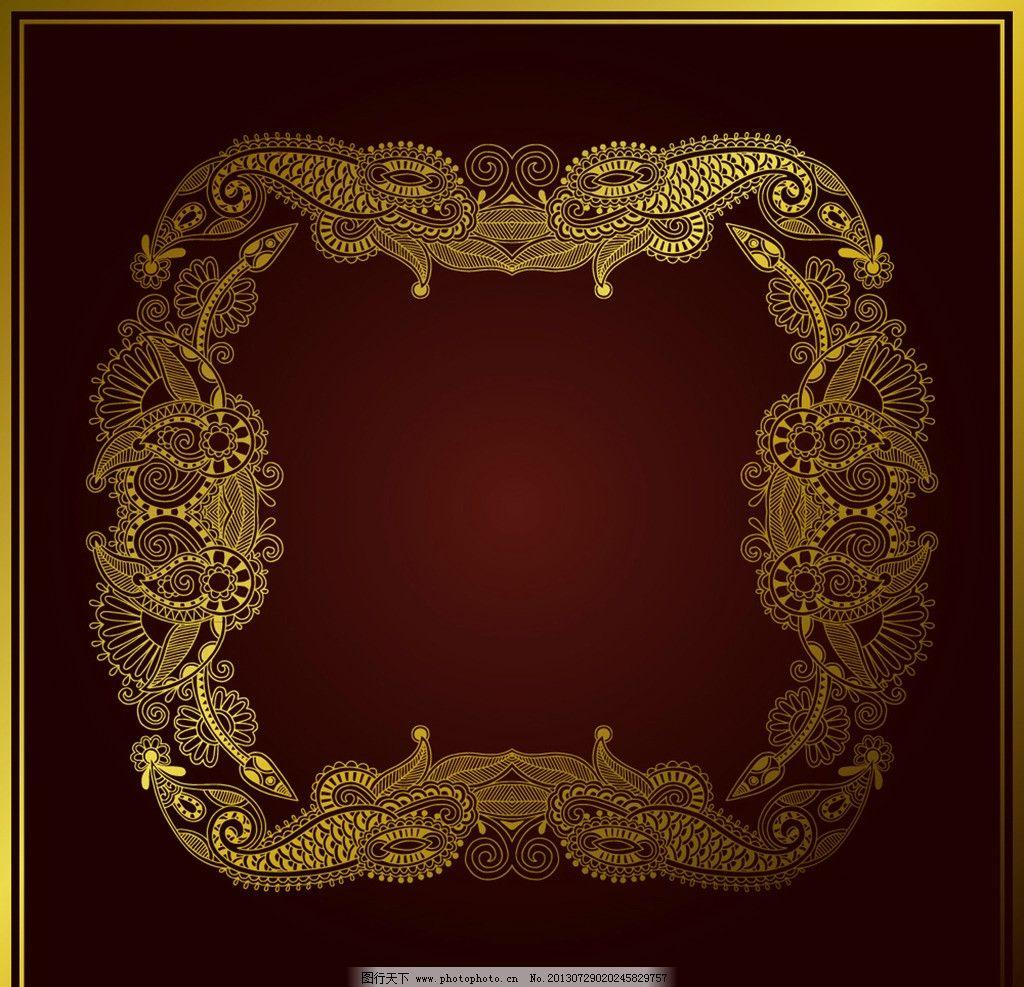 欧式浮雕相框角花