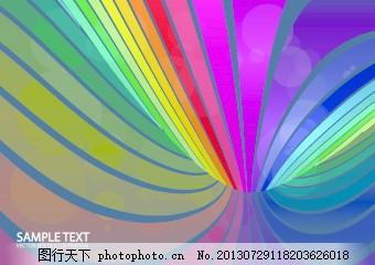 抽象设计元素背景01 背景缤纷多彩的背景设计元素的元素