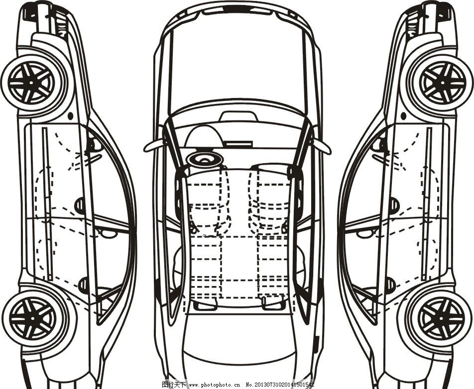 汽车维修结构图构架图图片
