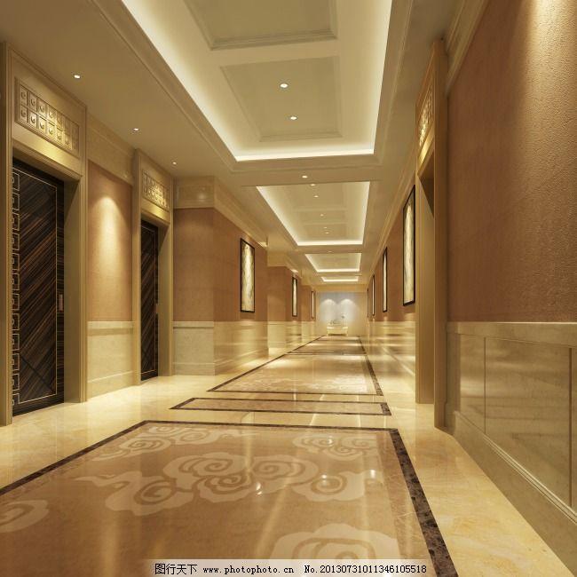 3d效果图 地板砖 室内效果图