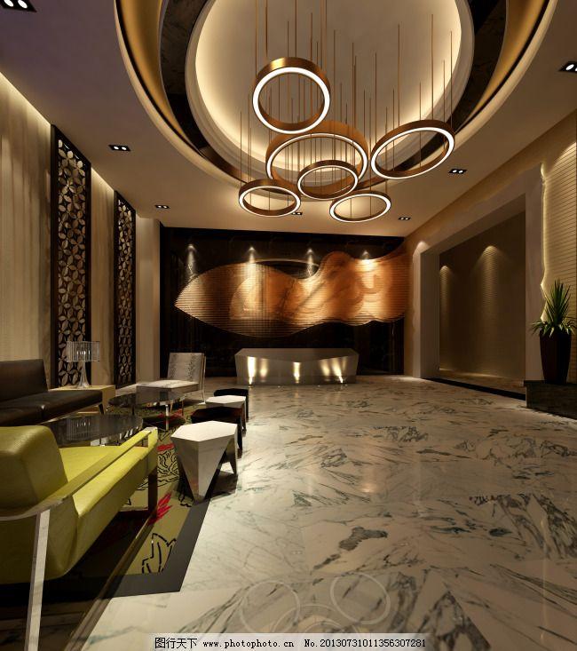 室内效果图 室内效果图免费下载 大厅效果图 地板砖 室内装修效果