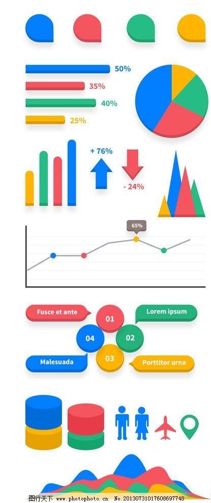 数据图表 立体图表 创意图表 图表设计 信息图表 其他模板 网页模板图片