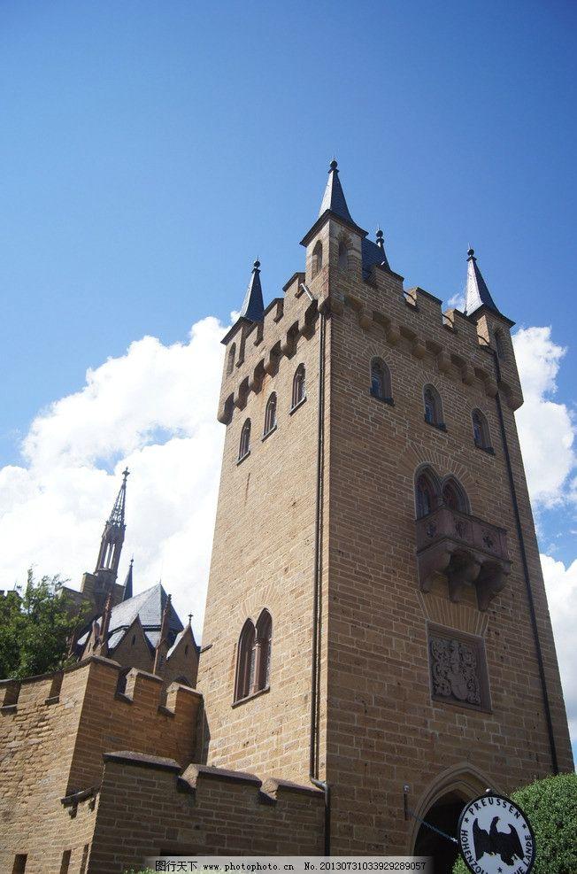 欧式塔楼 尖塔 欧式建筑 城堡 钟塔 砖墙 城堡尖塔 国内旅游 旅游摄影