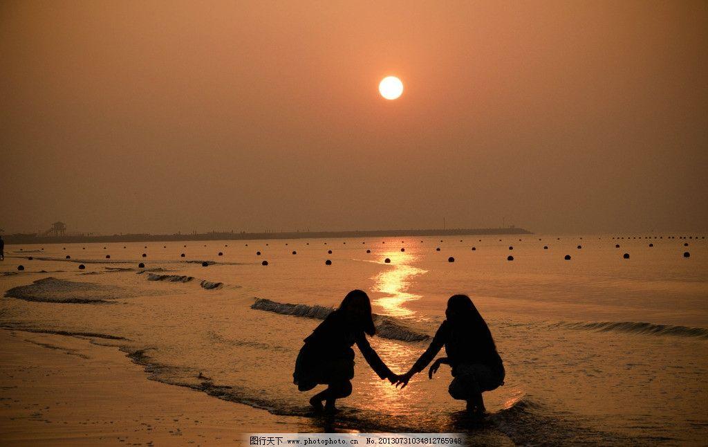 日出 海 海边 沙滩 海景 拍照 唯美 自然风景 自然景观 摄影 240dpi