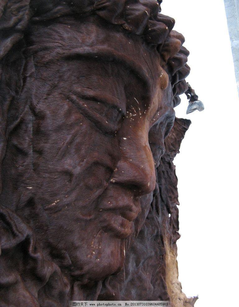 雕塑头像图片