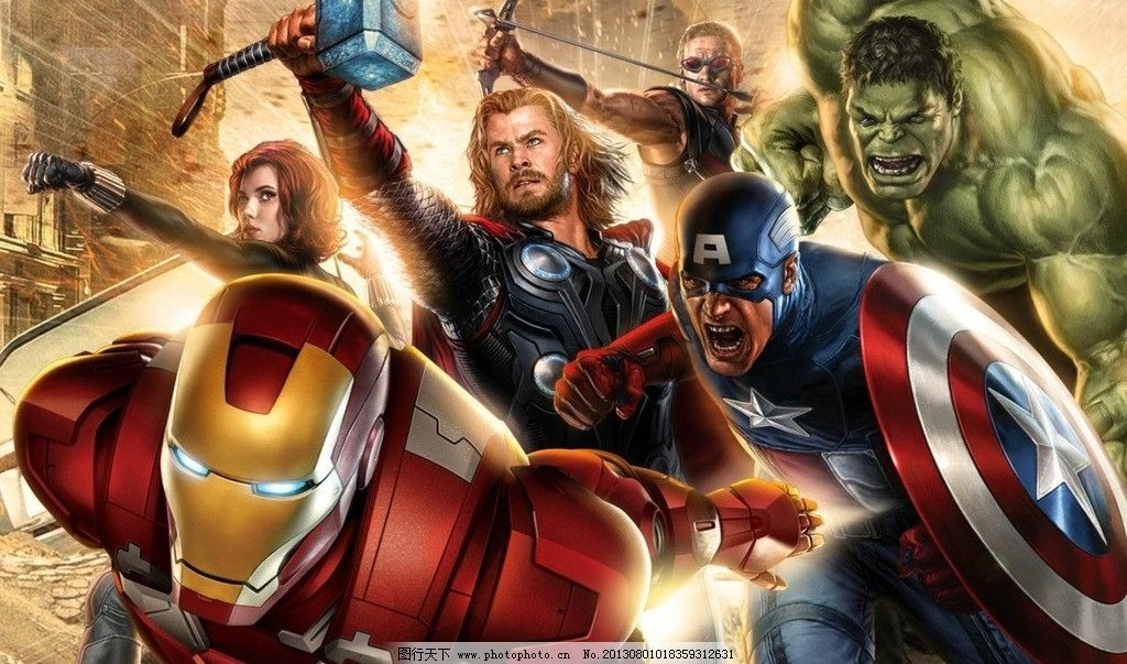 超级英雄之复仇者联盟图片