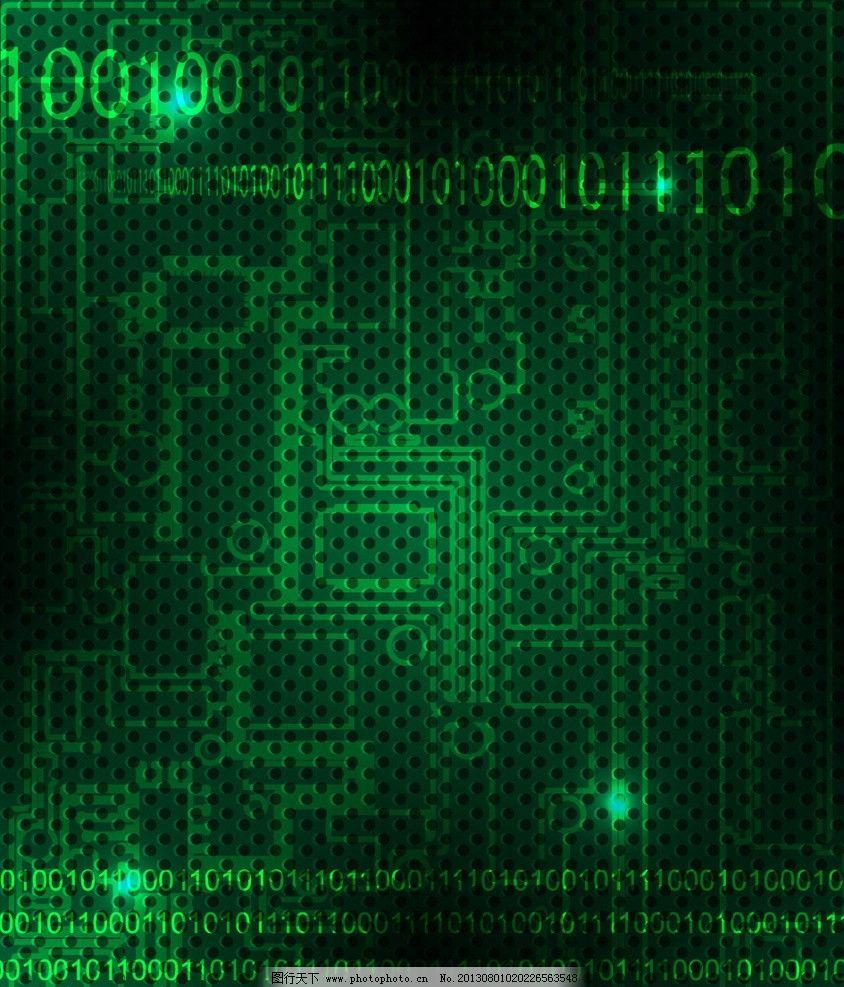科技背景 商务 科技 线条 电路板 数字 背景 底纹 展板 矢量 花纹矢量