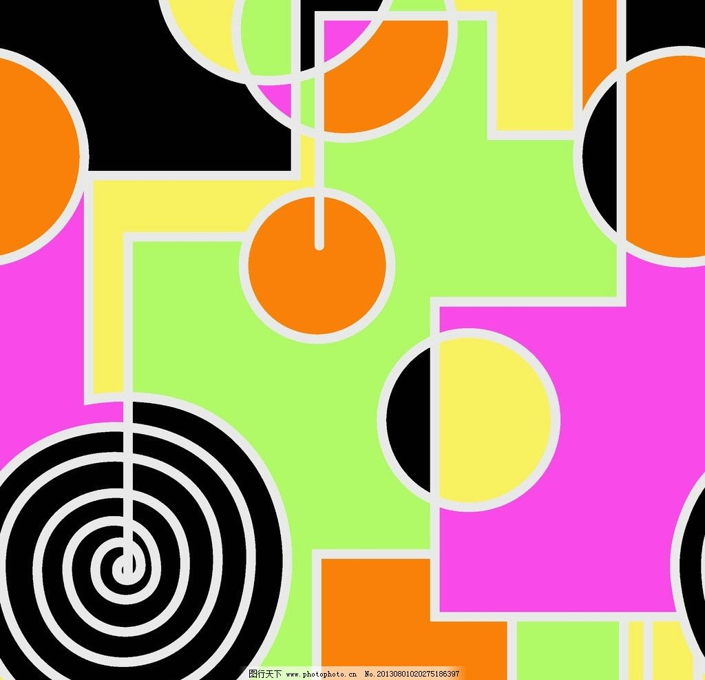 花纹背景 抽象底纹 面料设计 布料 几何 现代纹 分割图案图片