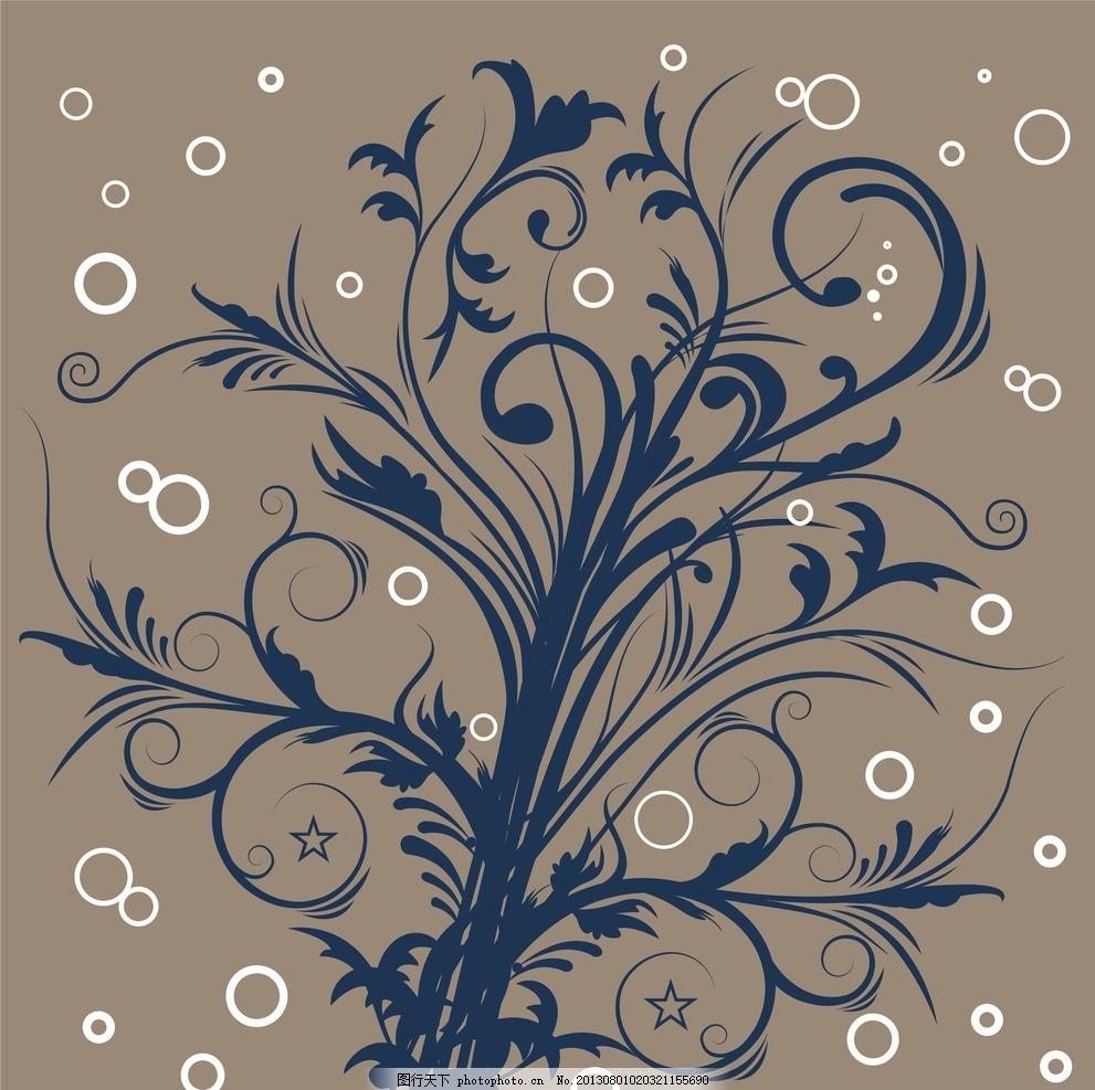 花纹 底纹 纹理 花边 植物 藤蔓 叶子 背景 唯美 花朵 树枝 墙纸 壁纸