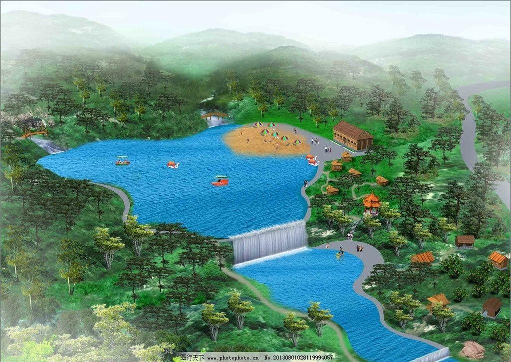 规划图 公园