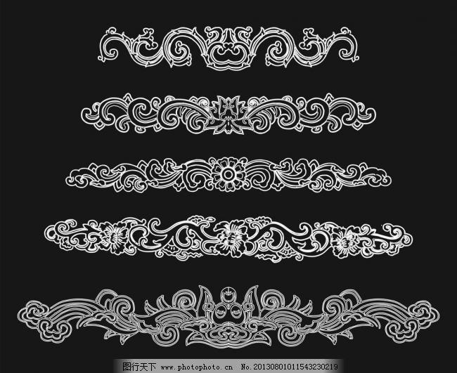 欧式花纹图片免费下载 cdr 边角 底纹边框 雕刻花纹 花纹花边 流行图片