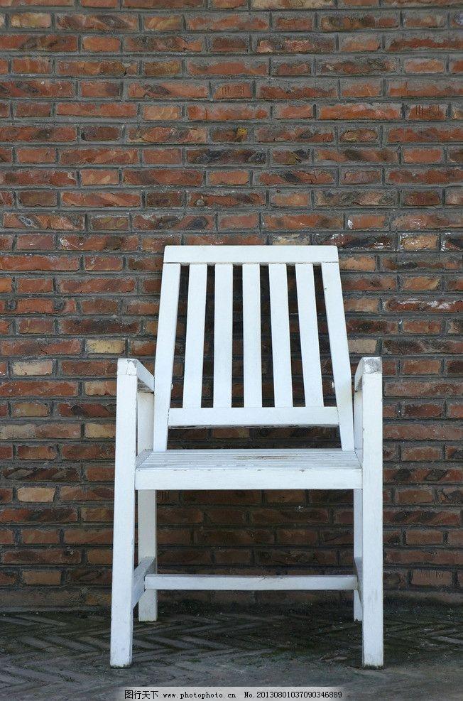 木椅子图片