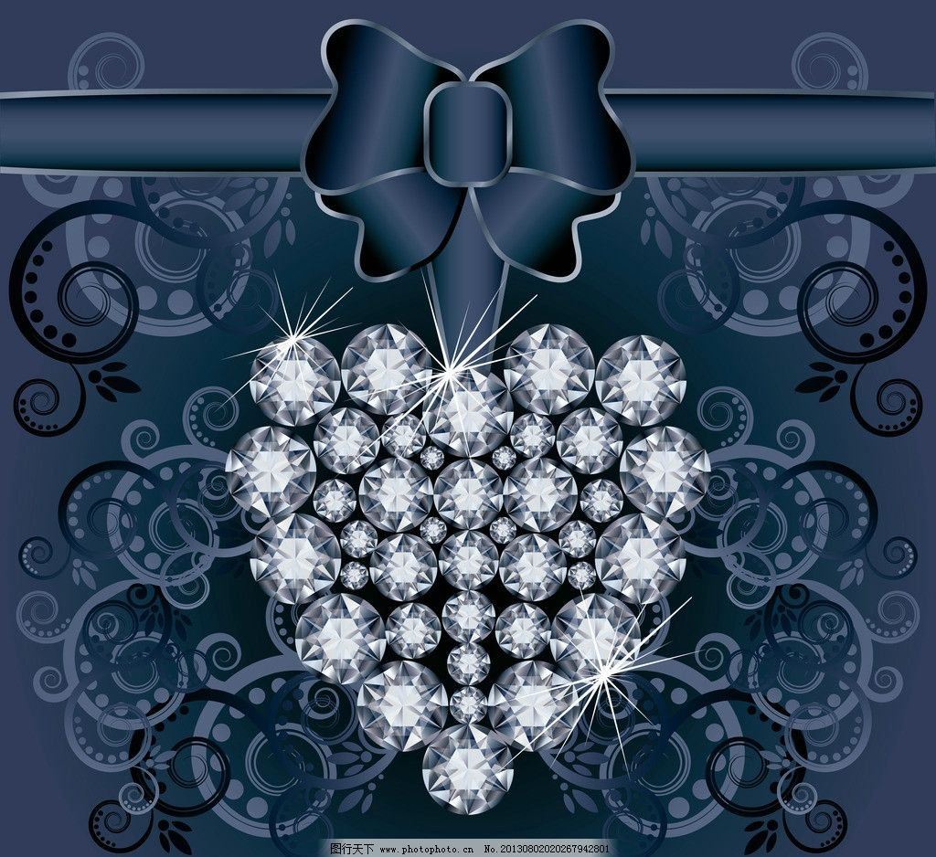 欧式花纹 钻石 钻石花纹 钻戒 欧式古典花纹 宝石 钻石设计 钻石广告