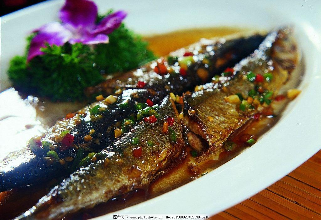 香煎秋刀鱼 秋刀鱼 鱼 饮食 特色菜式 餐饮美食 摄影图库 餐饮文化