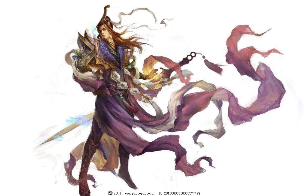 游戏壁纸 剑士 游戏原画 手绘 数字绘画 艺术 游戏美女原画及壁纸