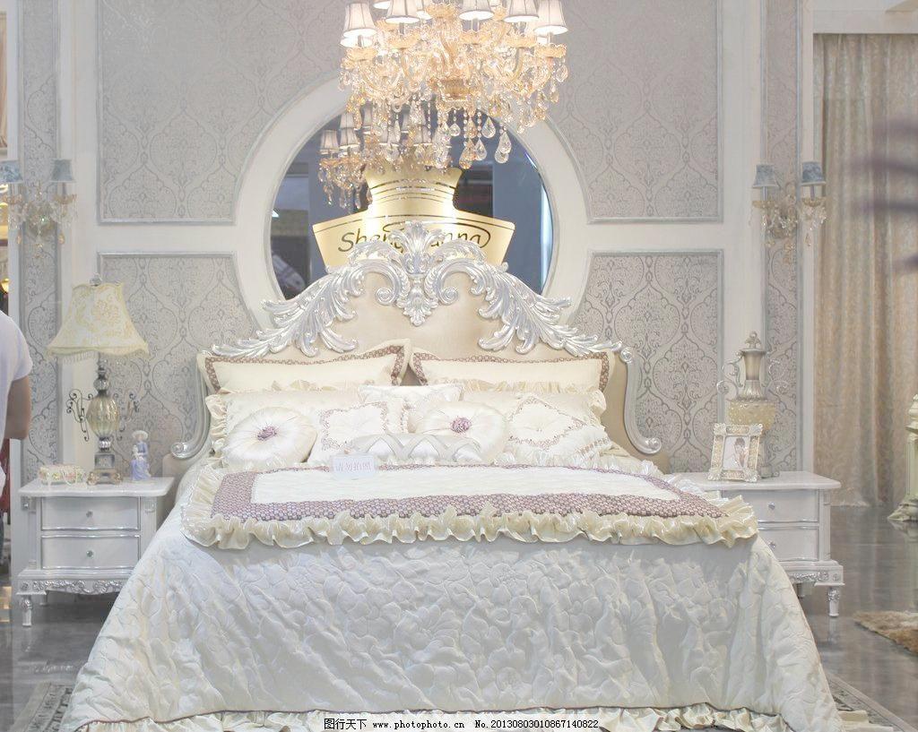 高档欧式床图片