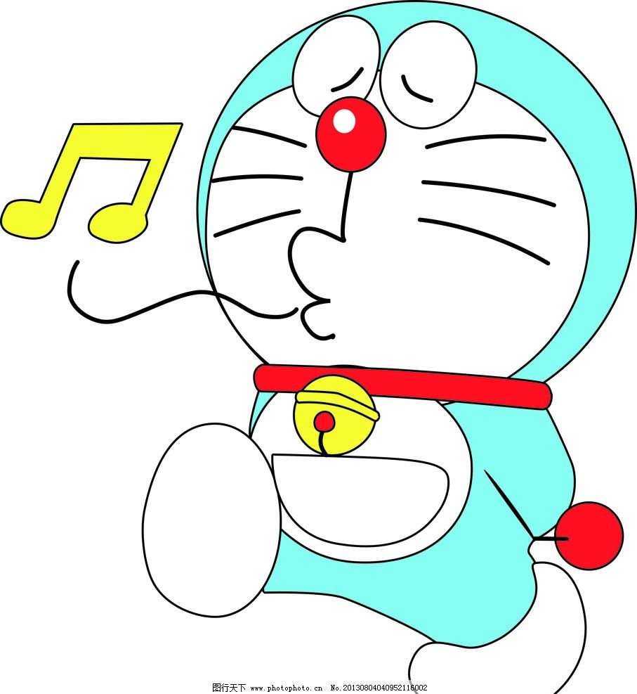 多拉a梦 可爱 机器猫 卡通 喜庆 人物 儿童幼儿 矢量人物 矢量 cdr